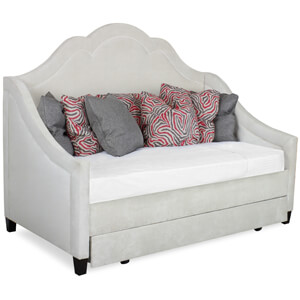 Custom Grey Trundle Daybed
